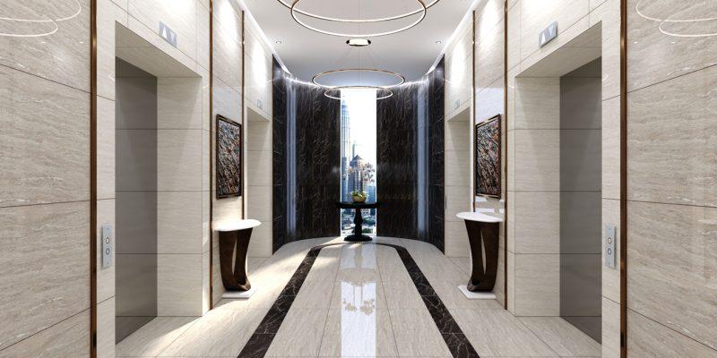AHMAD-HOTEL LIFT LOBBY_MODERN LUXURY